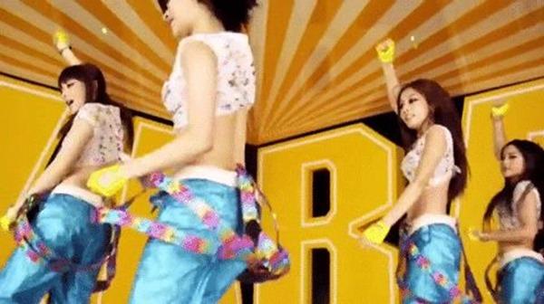 KARAの腰振りダンスエロGIF画像2