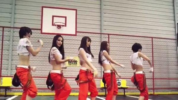 KARAの腰振りダンスエロGIF画像4