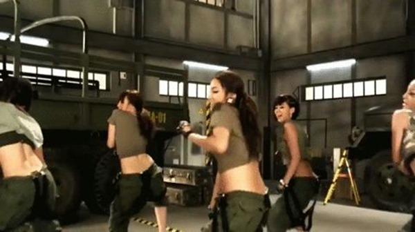 KARAの腰振りダンスエロGIF画像6