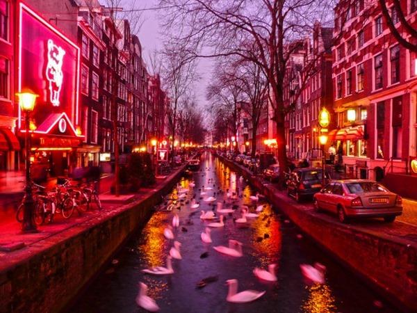 オランダの風俗街