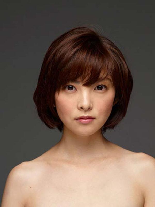 田中麗奈の入浴シーン胸の谷間グラビア乳画像