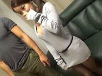 素人ナンパ!胸元アピールで私服がエロい代官山のフラワーショップ店員