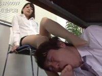 【M男】178cm長身美脚OL様の責め!司ミコト