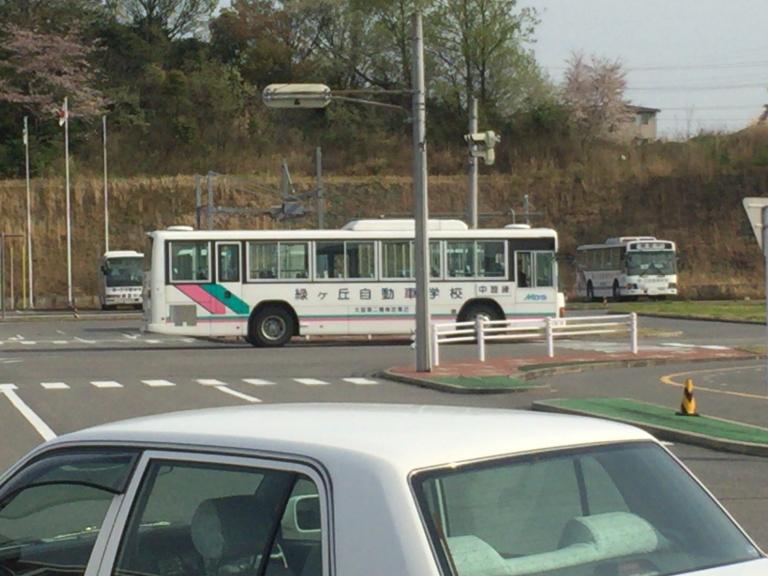 技能教習バス