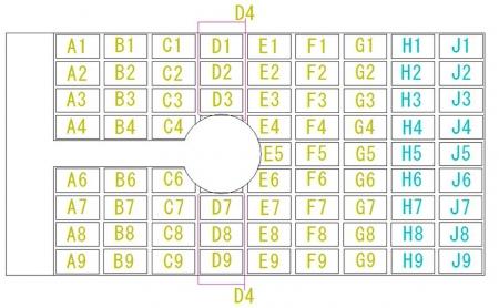 舞踏会の座席