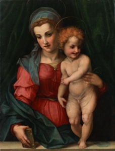 nmwa Andrea del Sarto The Madonna and Child