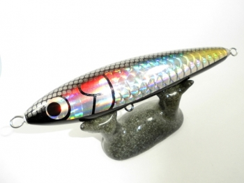 SR-Black Rainbow Shad 2