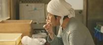 徳江の持ってきた、つぶ餡を食べてみる