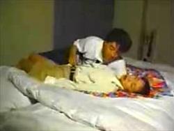 【盗撮】ラブホテルで行きずりのSEXを愉しむ男女2人の生々しい映像