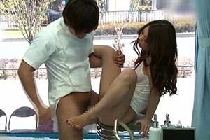 【MM号】激カワ美尻ギャルが媚薬オイルエステで失禁!絶頂!発情!【PornHub】