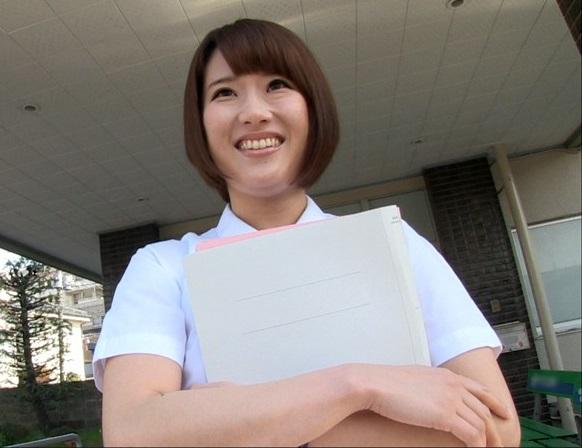 (シロウト)BUSト97cmのHカップ☆都内の病院に勤務するドすけべオンナが皆に黙ってAV出演wwww(ナァス)