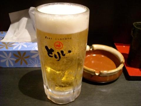 とりい・H26・3 生ビール