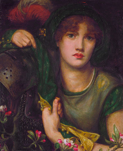 394px-Greensleeves-rossetti.jpg
