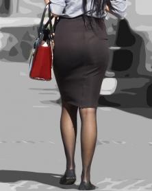 タイトスカートが魅力的過ぎる