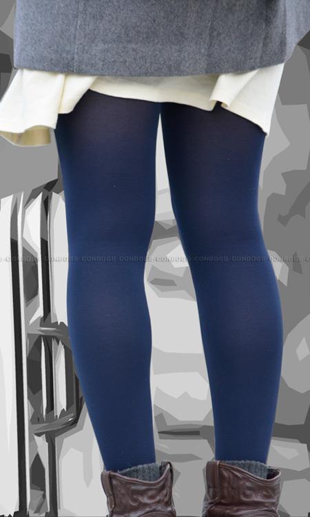 ■ ■vol253-引き締まった厚手タイツのムチ美脚