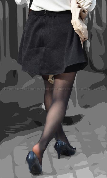 ■ ■vol264-魅力的な質感が溢れ出すむち脚黒タイツ