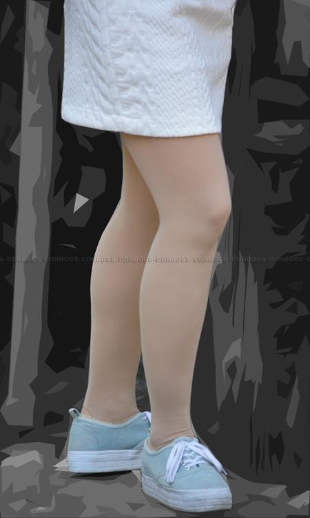 ■ ■vol259-むっちり美脚のお色気たっぷりベージュストッキング