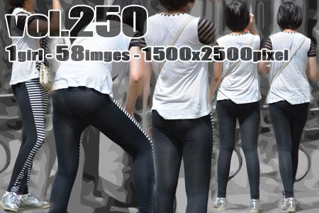vol250-プリ尻スパッツ食い込みパツパツPライン
