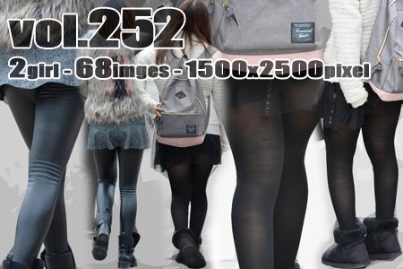 ■ ■vol252-むっちり下尻○見えミニスカひらり
