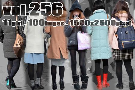 vol256-むちむち美脚のお色気たっぷり黒タイツ