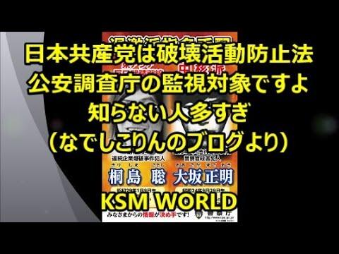 日本共産党は監視対照