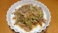 豚肉とメンマの炒め物 20151209