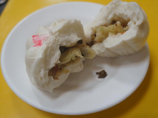 20151121 台北豆蒋大王 野菜饅頭 18㎝DSC08582