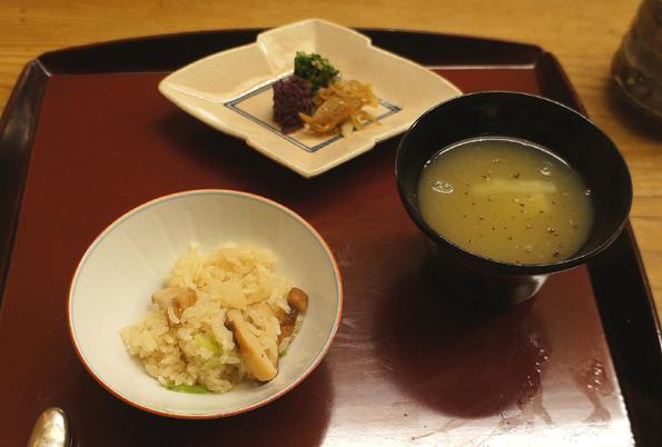 20151110 菊乃井 7 松茸ご飯 留椀 白菜スリ流し 21㎝DSC07551