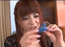 (ナカ出し)栗林里莉 やっぱり破れる特製ゴムでナカ出しsex