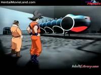 色んなアニメのキャラクターが入り交ざった謎のエロアニメですwww