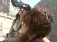 【ビキニギャル 無修正動画】adaruto 湘南の海でナンパしたギャルママビキニギャルと即ハメAV出演させちゃいました!