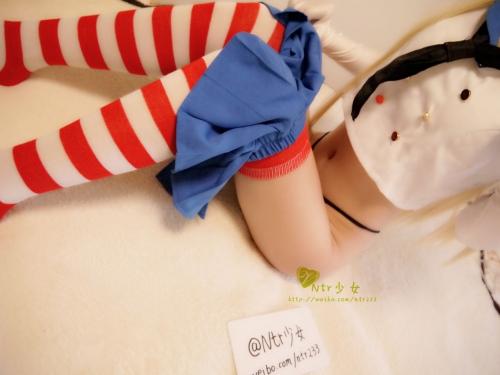 中国の「NTR少女」 島風コスプレで生のマ○コくぱぁ♪自撮りがドエロ #エロ画像 32枚