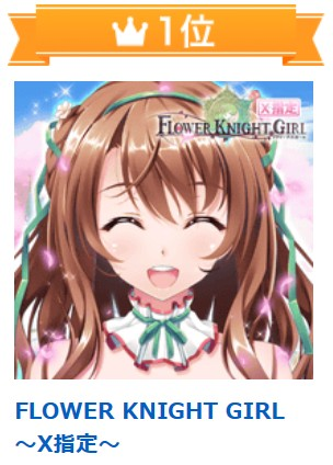 FLOWER KNIGHT GIRL ~X指定~ オンラインゲーム