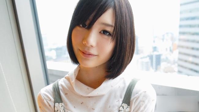 【鈴村あいり】初々しさと透明感が凄い美少女のデビュー前エッチ【シロウトTV】