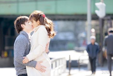 【新作】唾液を絡める濃厚接吻セックス 三上悠亜 2
