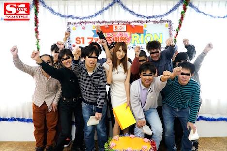 【新作】素人初解禁!!RIONファン感謝祭 素人男性10人とヤリまくり10本番 2