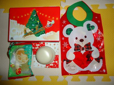 鏡餅とクリスマスプレゼント