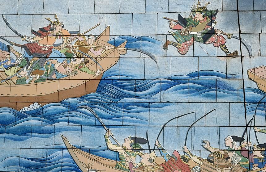 壇ノ浦の戦い絵巻