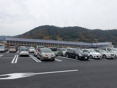道の駅 保田小学校 駐車場