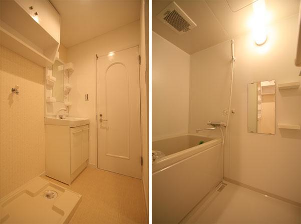 グリーンハイツ洗面浴室