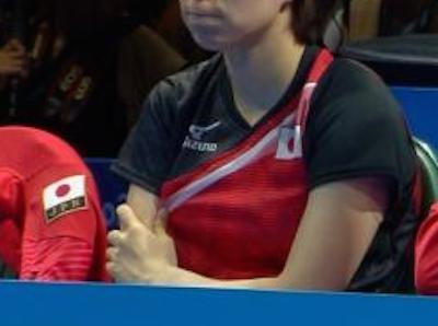 【エンタメ画像】《GIF画像》退場させられた後の石川佳純が可愛すぎる☆☆☆☆☆☆☆☆☆☆