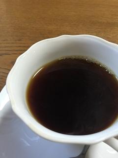 寿し割烹 食通 コーヒー