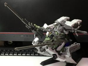 HG ガンダムバルバトス&長距離輸送ブースター クタン参型のテストショット4