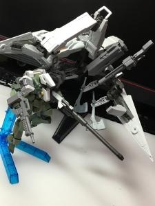 HG ガンダムバルバトス&長距離輸送ブースター クタン参型のテストショット3