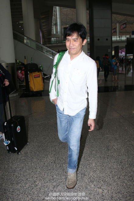 トニーさん@香港国際空港