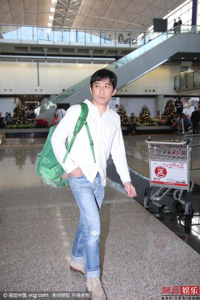 トニーさん@香港国際空港1