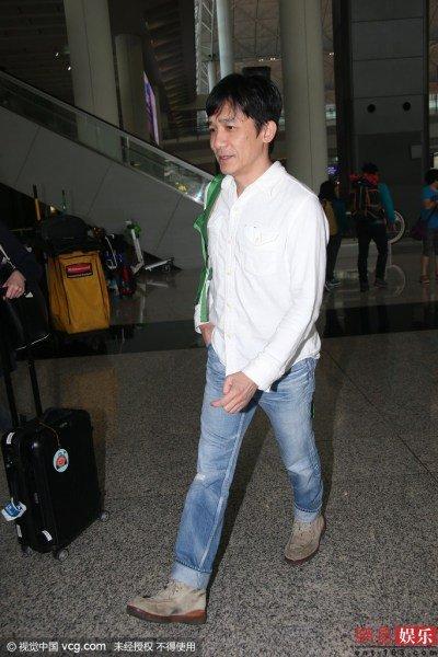 トニーさん@香港国際空港2