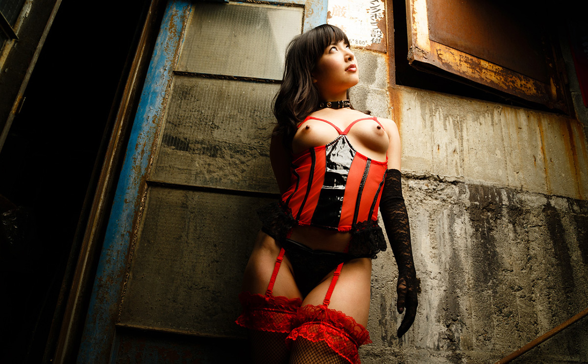 由愛可奈のグラビア写真