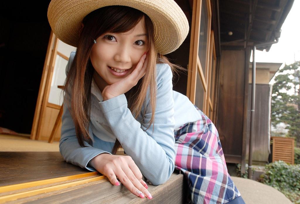 【No.4103】 麦わら帽子 / 小川あさ美