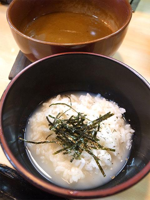 150801ガチ麺道場-つけ麺ベジポタ元味・雑炊